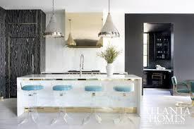 kitchen islands atlanta striking modernity in atlanta stools kitchens and marbles