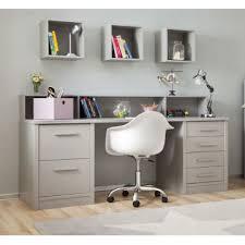 etagere sur bureau bureau enfant 2 caissons étagère bambins déco