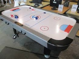 sportcraft turbo hockey table large 7ft x 4ft sportcraft air hockey table turbo hockey 120 00