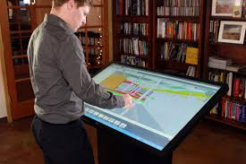 multitouch drafting table for architects u0026 designers ideum