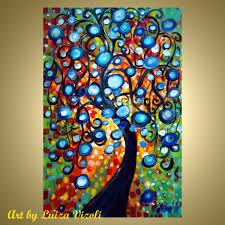 original paintings for sale oil flower painting floral tree