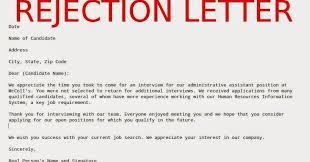 Rejecting Goods Letter sle rejection letter sles business letters