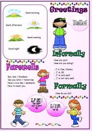 ideas collection esl introductions and greetings worksheets with