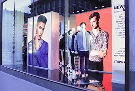 digital window retail digital signage led screen hire av solutions for shop