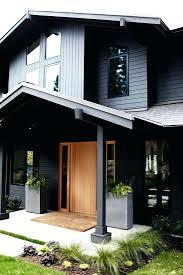front door side windows blinds cool blue doors residential homes