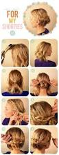 hairstyle tutorials for medium length hair diy hair updos for medium length hair hairstyle tutorials for your