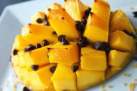 cuisiner mangue mangue rôtie au chocolat sof vous invite