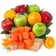 fruit gift purely fruit fruit gift basket by gourmetgiftbaskets