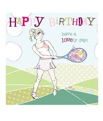 tennis birthday cards molly mae tennis birthday cards