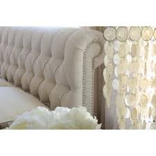 Tufted Sleigh Bed Tufted Sleigh Bed With Footboard Tufted Sleigh Bed Look Very