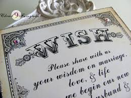 wedding wish tags wish tree sign wedding wishing tree card for wish tags