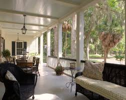 attached covered porch houzz