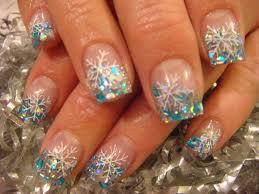 snowflake nails nail art pinterest snowflake nails winter