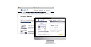 fxcm web site design art direction branding tamarushdesign