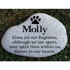 personalized memorial stones dog stones pet stones pet memorial pet monuments