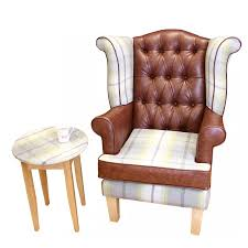 wingback chair winged armchair high seat chairs made for you 4u