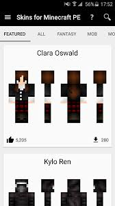 minecraft pe free android skins for minecraft pe android apps on play