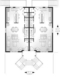 mountlake terrace triplex home plan 032d 0060 house plans and more