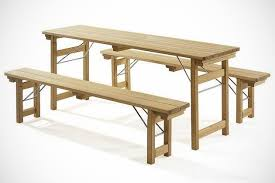 folding table with bench folding garden bench with table bonjourlife