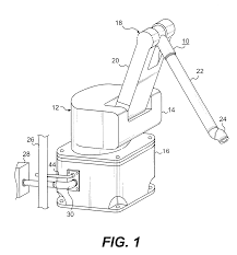 patent us6477913 electric robot for use in a hazardous location