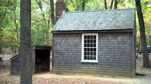 walden woods pond h d thoreau u0027s tiny cabin house shack small