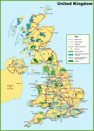 parks map uk national parks map