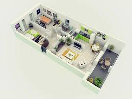 2 bedroom home bright inspiration 14 3d home design ground floor 25 more 2