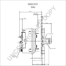 66021631 alternator product details prestolite leece neville
