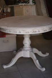 Redo Kitchen Table by 89 Best Furniture Tables Round Images On Pinterest Painted