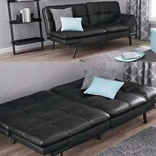 leather futons and covers ebay