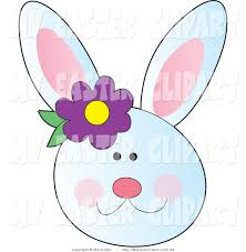 bunny clipart rabbit face pencil and in color bunny clipart