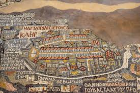 Dead Sea Map The Dead Sea And Madaba Ndeke Luka