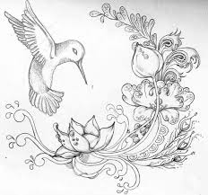 Flowers Designs For Drawing Pencil Drawings Of Flowers And Butterflies Google Search Craft