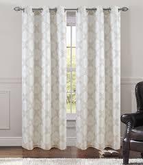 pair of atlantis window curtain panels w grommets ebay