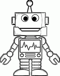 coloring pages coloring pages robots lovely robot 2 free