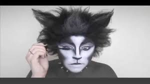 white face halloween makeup halloween makeup tutorial cat clown youtube