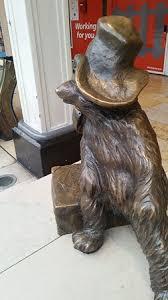 paddington bear statue picture paddington station london