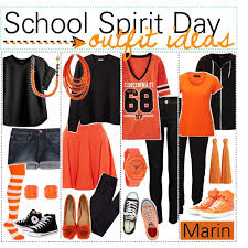 spirit day ideas so i u0027ve been trawling polyvore