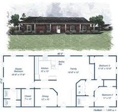 Steel Buildings With Living Quarters Floor Plans Similar Design - Steel building home designs