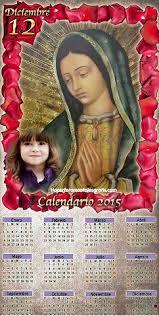 fotomontaje de calendario 2015 minions con foto hacer fotomontaje de calendario 2015 virgen de guadalupe hacer