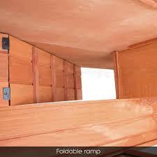 Indoor Hutch Rabbit Hutch Cage Indoor Outdoor 2 Story Rabbit Guinea Pig