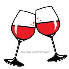 wine glasses clip free vector graphics freevectors