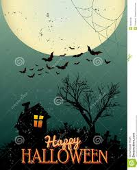 halloween poster royalty free stock photos image 34930768