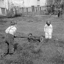 should my kid make money as a lawn mower