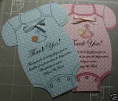 baby shower thank you cards baby shower thank you cards invitation cards boy girl ebay