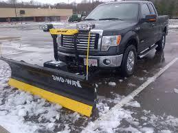 Ford Raptor Plow Truck - sno way plow