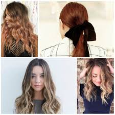 ponytail hairstyles hairstyles 2018 new haircuts and hair colors