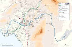 Delphi Greece Map by Athens Metro Map