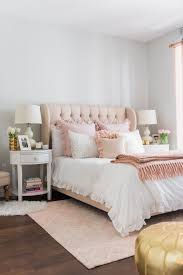 My Chicago Bedroom  Parisian Chic Blush Pink  Bows  Sequins - Ideas for a white bedroom
