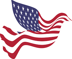 A American Flag Pictures Free Clipart Of A Peace Dove With An American Flag Pattern